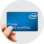 Intel Music Download Card